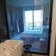 Bathroom view of bedroom.