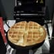 Not quite the perfect waffle.