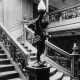 The Grand Staircase of the Titanic. There is a replica of this staircase at the Titanic Artifact Exhibit at Luxor Hotel, and a ghost sighting has been reported on the replica of this staircase.
