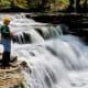 Fish the plentiful streams and lakes.