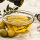 Olive oil has unsaturated fats good for the body