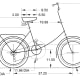Computer Drawing on the Schwinn Folding Bike.