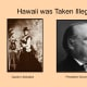 Queen Liliokalani and Grover Cleavland