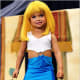 "This little prosti-tot was dressed up to look like a little ""Pretty Woman"" for a pageant shown of Toddlers and Tiaras."