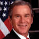Former US President George W Bush who with Blair led the invasion of Iraq and this has forever tarnished both men