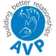 The AVP logo.