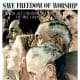 """""""Freedom of Worship,"""" poster art by Norman Rockwell (1943)"""