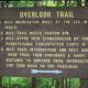 Overlook Trail Sign, Leonard Harrison State Park