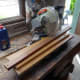 All the wood needed for the trough, ready to cut to length.