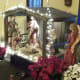 Creche inside the church, Our Lady Help of Christians, Staten Island, Christmas Eve 2016.