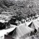 Camp Howze during construction for the war effort.