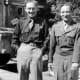Henry Kissinger (left) in 1945