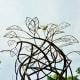 """Top of """"Whirlwind"""" sculpture by Tim Glover in True South sculpture exhibit Houston"""