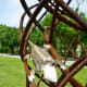 "Detail on ""Whirlwind"" sculpture by Tim Glover in True South sculpture exhibit Houston"