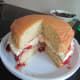 make a Victoria Sponge (lucky I had flour in the cupboard!).