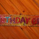 ... or Message (Birthday Banner)