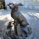 Sculpture of Bretagne