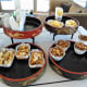 All day snacks in the executive lounge.