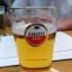 Amstel, local beer, produced by Heineken.