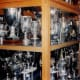 A photograph taken in 1994 of the trophy cabinet at Ibrox, home of Rangers. The club have won a few more trophies since this photo was taken.