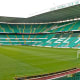 A panoramic view of Celtic Park, Glasgow.