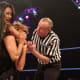Gail Kim trying to choke Lei'D Tapa out