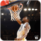 Kevin Durant dunks the basketball.