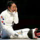 South Korea's Shin A-Lam in floods of tears after a purely technical infringement led to her disqualification in a fencing contest.