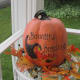 Pumpkin on my front porch.