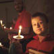 Have a candle light Christmas Eve service.