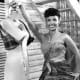 Publicity photo of Lena Horne from her own stage show Nine O'Clock Revue.
