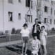 Kathy Picorozzi, James Farmer, Me and Mary Poole in front. PAUL REVERE VILLAGE AND MILITARY BASE IN KARLSRUHE, GERMANY