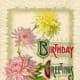 "vintage birthday card ""Birthday Greetings"""