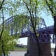 Cinci's The Purple People Bridge, a pedestrian walkway.