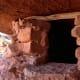 Anasazi pueblo ruins in the cliffs.