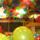 Fill the gym with balloons.