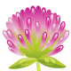 free purple flower free flower clipart