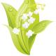 free white flower clip art