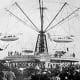 Blackpool Pleasure Beach - Sir Hiram Maxim's Captive Flying machine 1904