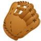 Baseball images: plain baseball glove