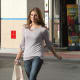 Ashley Greene has toned legs that look great in her slim jeans