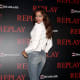 Irina Shayk shows off her gorgoeus curves on the event carpet