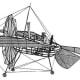 Monoplane design of 1874