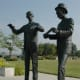 Wright Brothers in Bronze