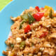 Millet with Peppers and Walnuts