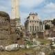 Walking Inside The Roman Forum