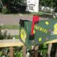 Frugal Gift Idea - Hand Made Football Fan gift idea - Green Bay Packer mail box