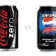 Pepsi diet vs Coca Cola zero