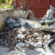 Water features added to our modified wildlife pond