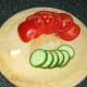 Simple salad ingredients